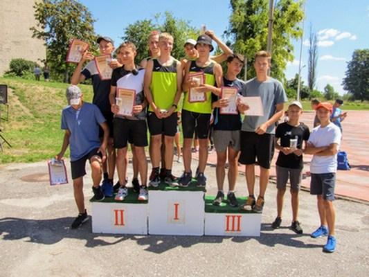 Охтирські легкоатлети вибороли 15 призових місць