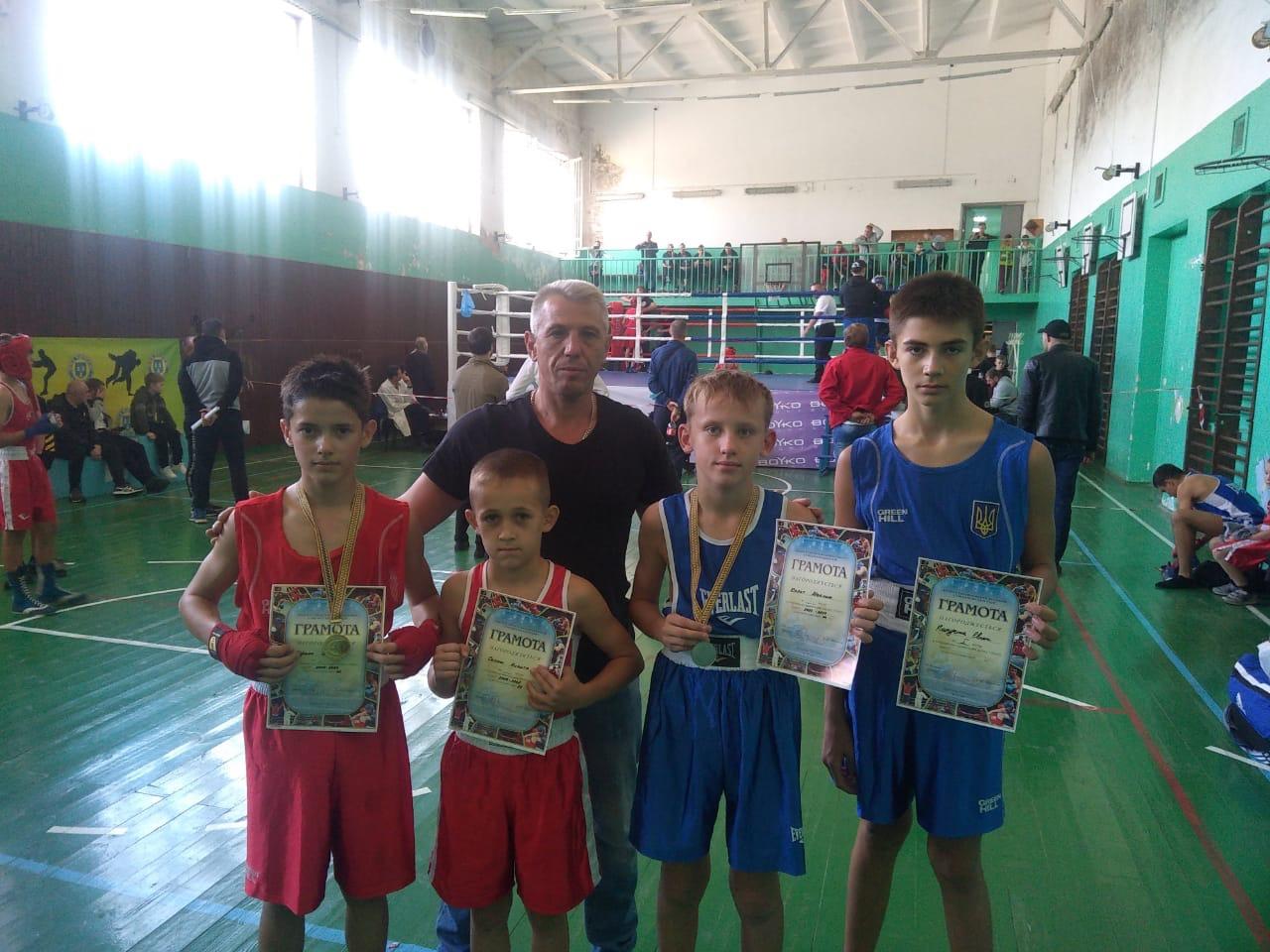 Охтирські спортсмени взяли участь у відкритому чемпіонаті міста Суми з боксу, де вибороли чотири призових місця