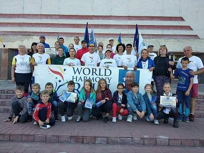Учасники загальнонаціонального марафону «Європейський пробіг заради миру» відвідали Охтирку