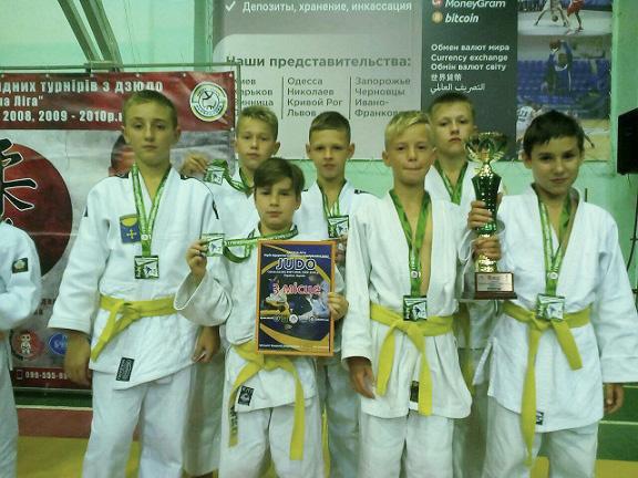 Перемоги в ІІ етапі серії відкритих командних турнірів з дзюдо «Дитяча ліга 2020»