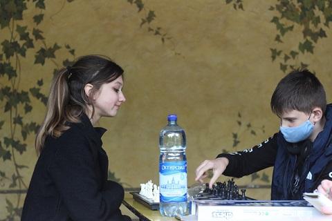 Міський шаховий турнір серед дітей до Дня шахів