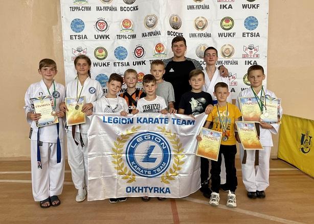 Охтирські спортсмени взяли участь у Відкритому чемпіонаті міста Суми з карате