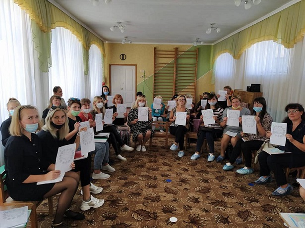 Відбувся спільний семінар-тренінг «Зрозуміти кожну дитину» для вихователів інклюзивних груп